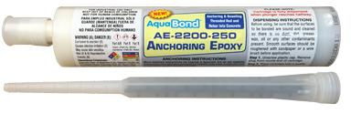 AquaBond AE-2200=250 anchoring and doweling epoxy 250 ml