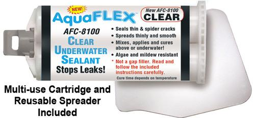 Underwater Sealant for Swimming Pools & Spas - AquaFlex by