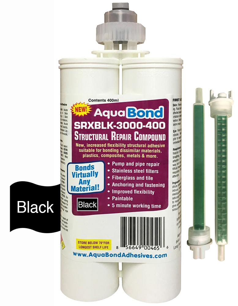 Super strong - Black structural adhesive-fast setting-acrylic repair adhesive